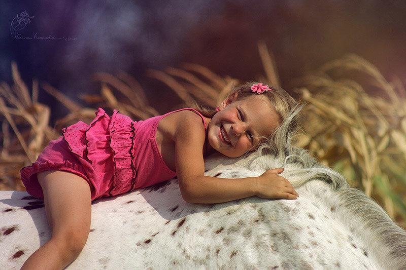 только счастье, только детские мечты))
