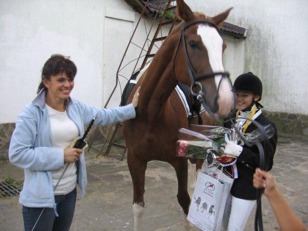 Отрада 2009,после награждения