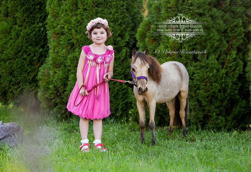 Счастливые детки на ферме Идальго