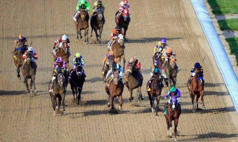 Ипподром Churchill Downs 2014 год, первый этап Тройной Короны - Kentucky Derby.