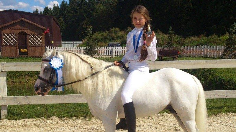 Мои вторые старты) уэльский пони сектор А Спортиш Сплендор