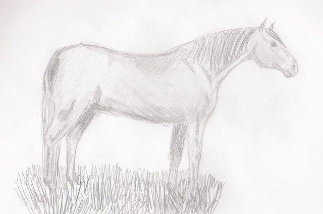 мой последний рисунок))
