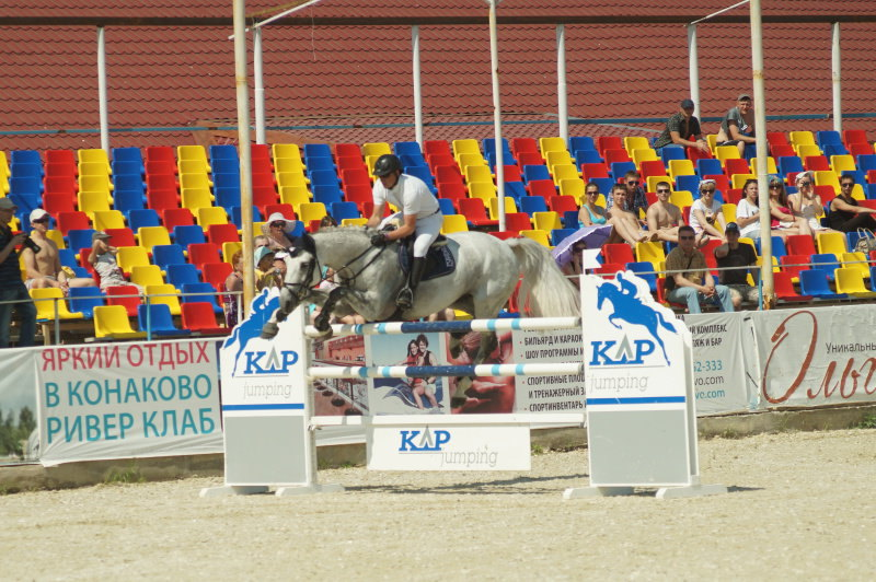 конкур,Конаковские конюшни,24.05.14 .145см