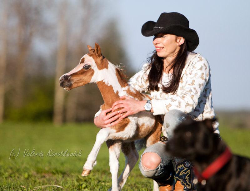 Жеребчик HF Little Picasso,рожден в пони ферме Идальго http://mini-pony.ru