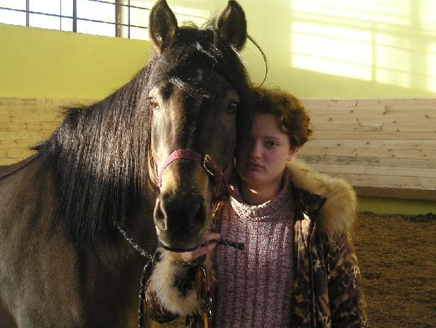 Моя жена и лошадь
