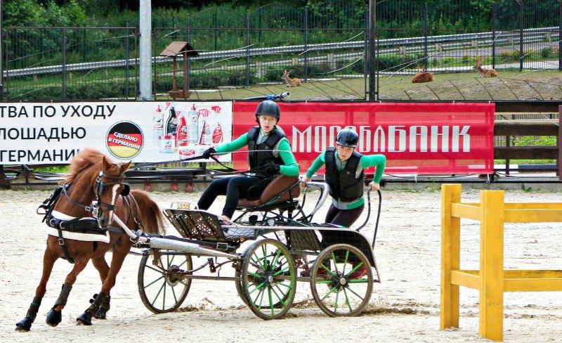 Маргарита Трухина и Хелена на мини-марафоне CAN 2*-P1