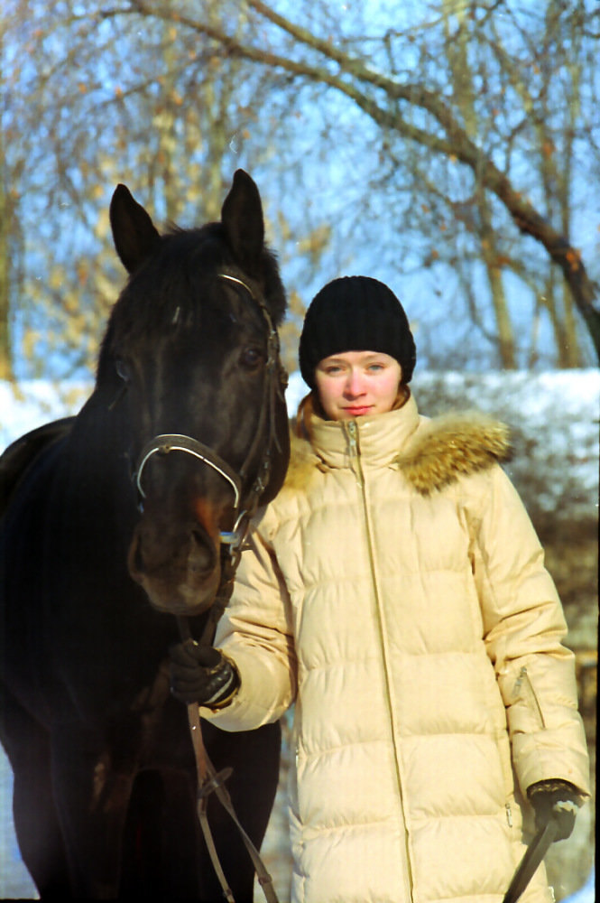 М.Исаева,кличку коня не помню