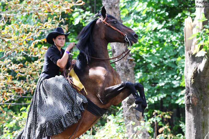Аня и Ария, Эквирос-2010, 21.08.2010