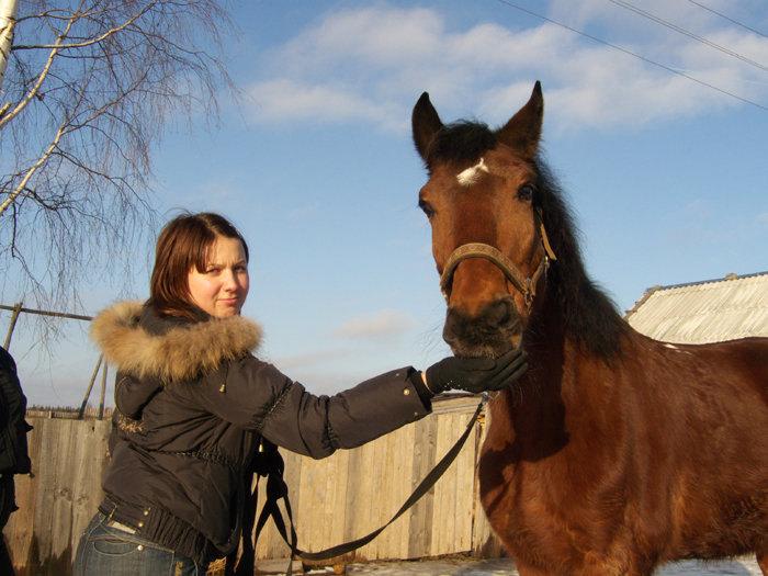 Просто конь в игривом настроении был...