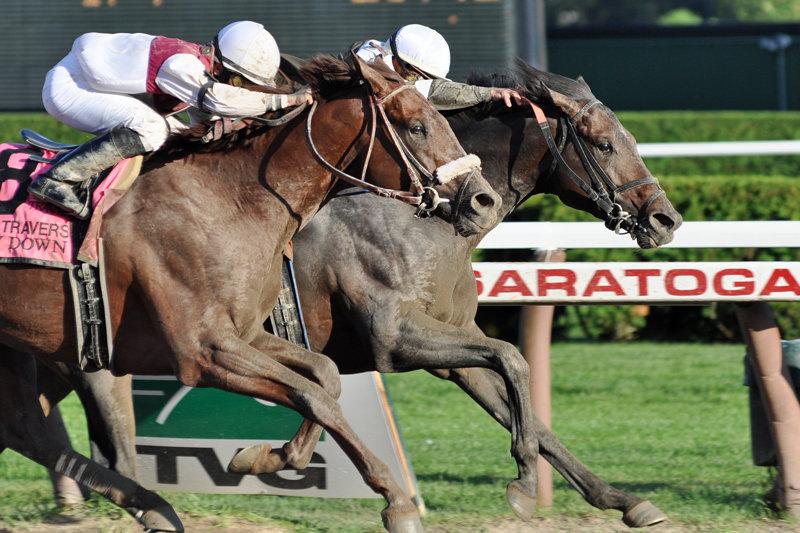 Ипподром Saratoga 2010 год, скачка Travers Stakes.