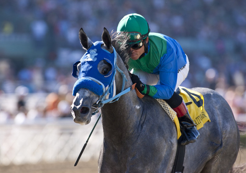 Ипподром Santa Anita 2012 год, скачка San Felipe Stakes - Gr. 2