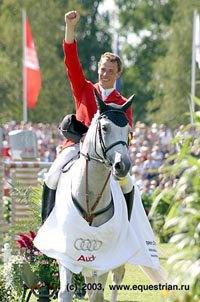 Вот он - новый Чемпион! Кристиан Альман, Германия.