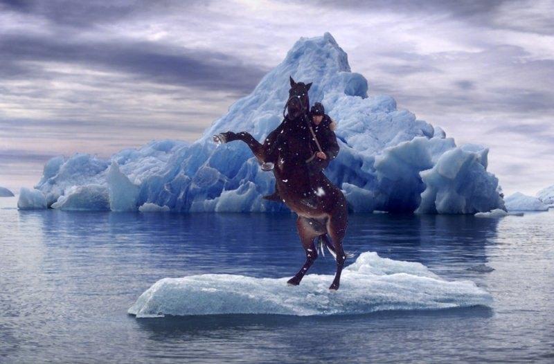 Айсберг в океане..... и Я!