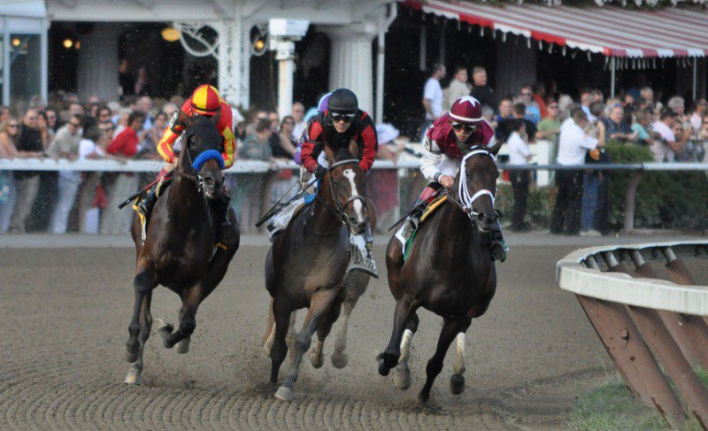 Ипподром Saratoga, скачка Alabama Stakes (Gr. 1) 2013 год.
