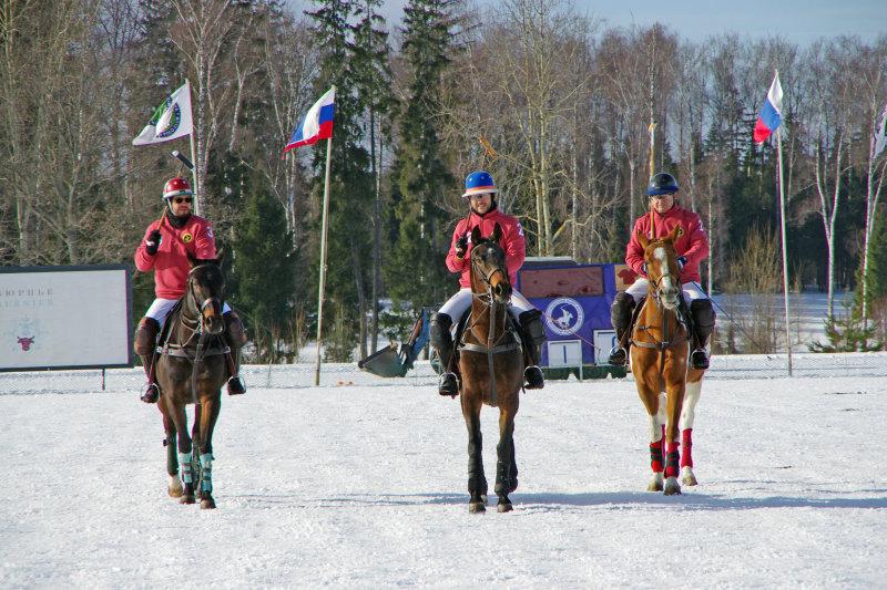 Команда Московского поло-клуба
