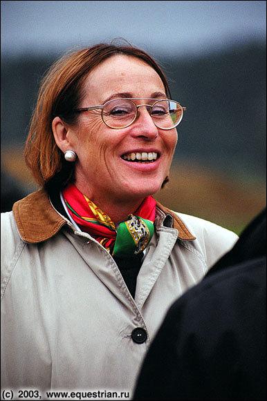Судья: Dr. Evi Eisenhardt (GER)