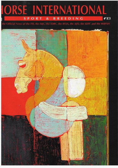 моя живопись, выставлявшаяся так же в Сомюре на конкурсе опубликована на обложке данного журнала