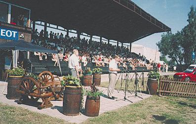 CSI-W Рига. Церемония открытия соревнований