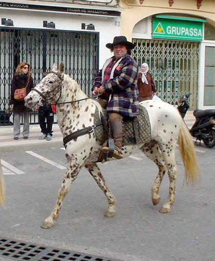 Дядька боченок - бывший владелец моей лошади