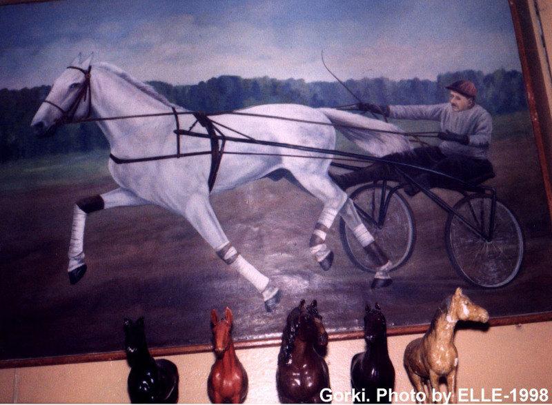 г. Горки, Бел сельхозакадемия. Картина которая висит в аудитории коневодства. Увы, автора я не знаю