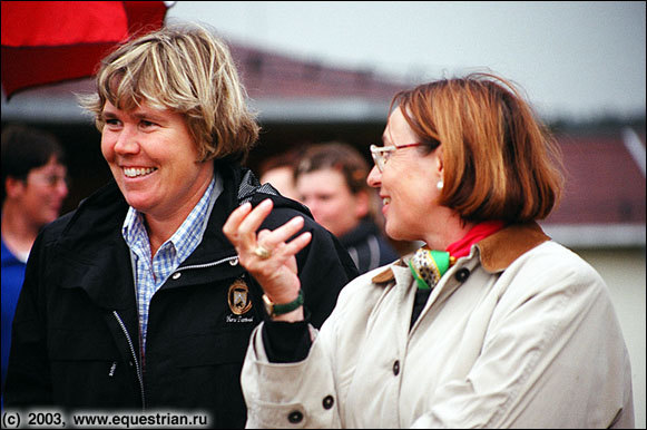 Судьи: Mrs. Maria Colliander (FIN) и Dr. Evi Eisenhardt (GER)