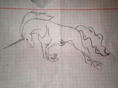 попытка нарисовать что-то похожее на рисунок тушью SashaS