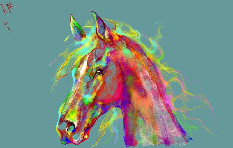 PaintBrush - новая рисовалка граффити. K.M. Horse