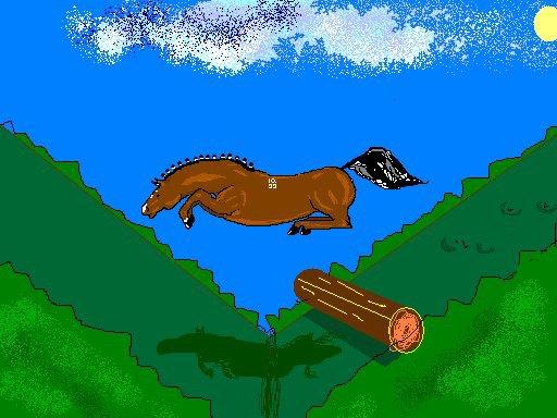 мой первый конь,рисунок