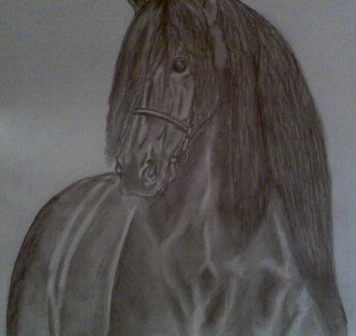 С рисунка Vinky, карандаш