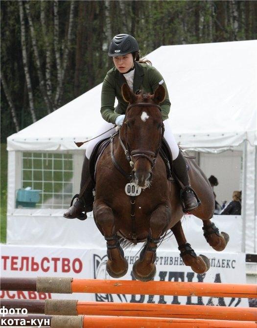 Битца Открытый Чемпионат Москвы Международные Соревнования Высота 130 см 5.05.10
