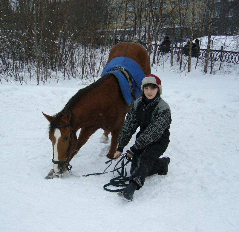 прошлая зима......Так хочется туда...в маленькую конюшню на улице Буркова))