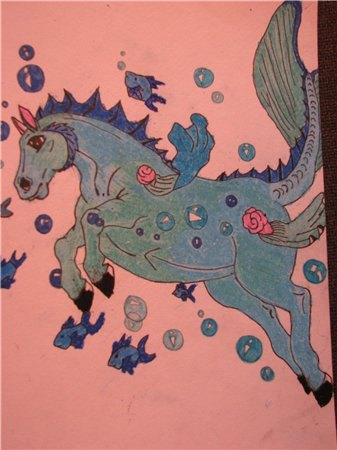 Один из миох первых рисунков пастелью