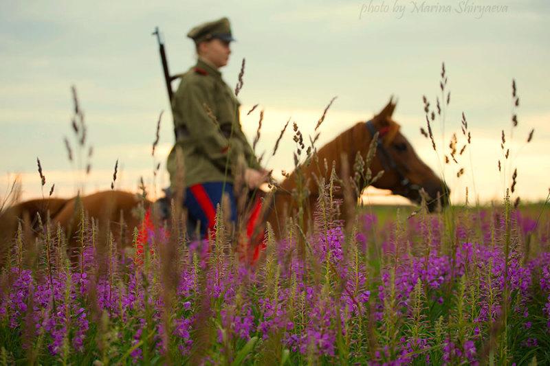 Светлана и Нарбинка, снято на КБ Храброво