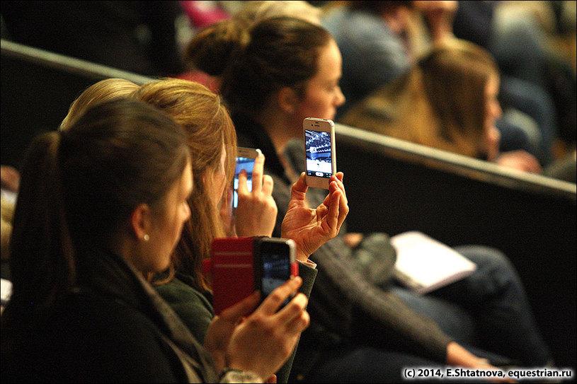 Съемки телефонными камерами
