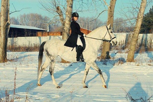 Это я на своей лошади