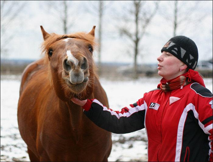 Я и Арбалет | фото Иришки (Лошадки)