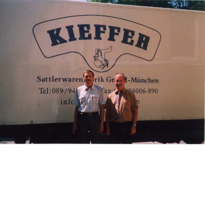 Это я и директор по продажам фирмы Kieffer г-н Траунфельдер