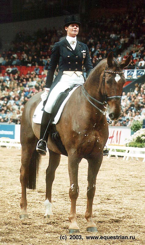 Улла Зальцгебер на Расти (Германия) - 1 место в Финале.