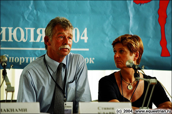 Судьи - Стивен Кларк из Великобритании, Элизабет Макс-Тойрер из Австрии
