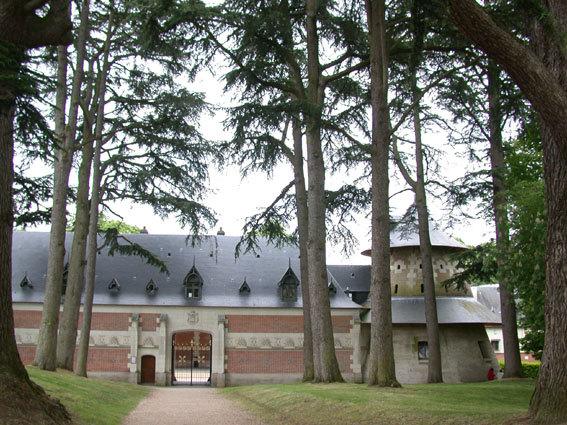 Конюшня замка Шомон на Луаре