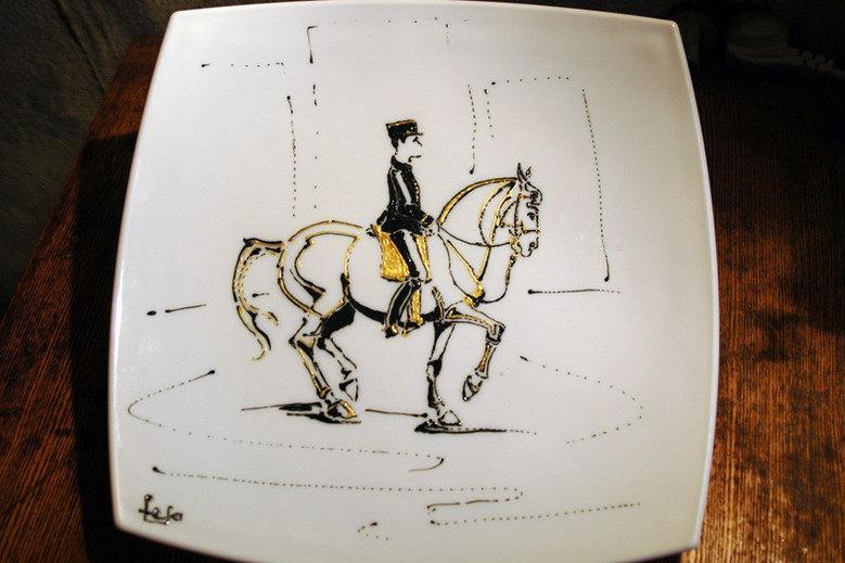 тарелка Luminark, 34см диагональ, акрил Decola