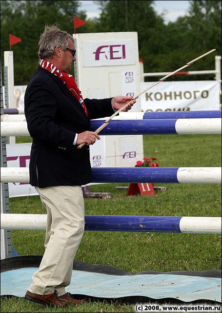 Технический делегат Эндрю Гриффитс