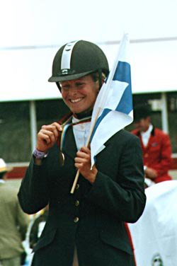 Первая финская медаль в троеборье на Чемпионате Мира.