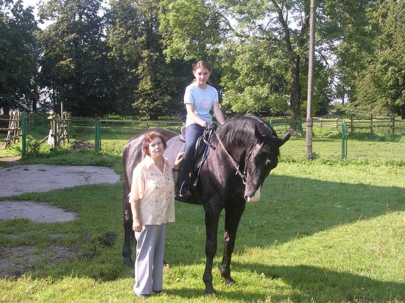 моя бабушка, я и Флинт