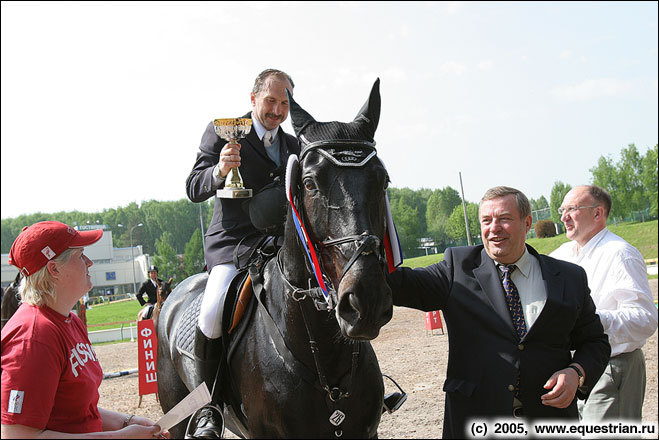 Панченко Владимир на Скриме на церемонии награждения