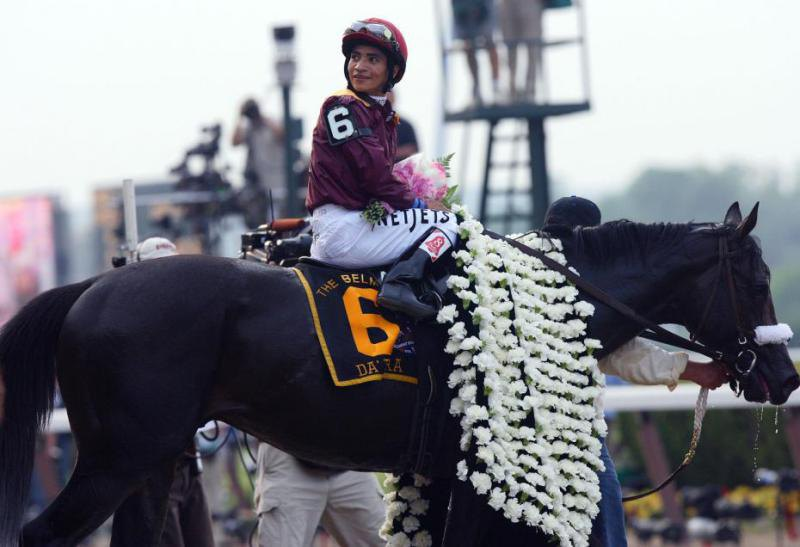 Ипподром Belmont Park 2008 год, последний этап Тройной Короны - Belmont Stakes.