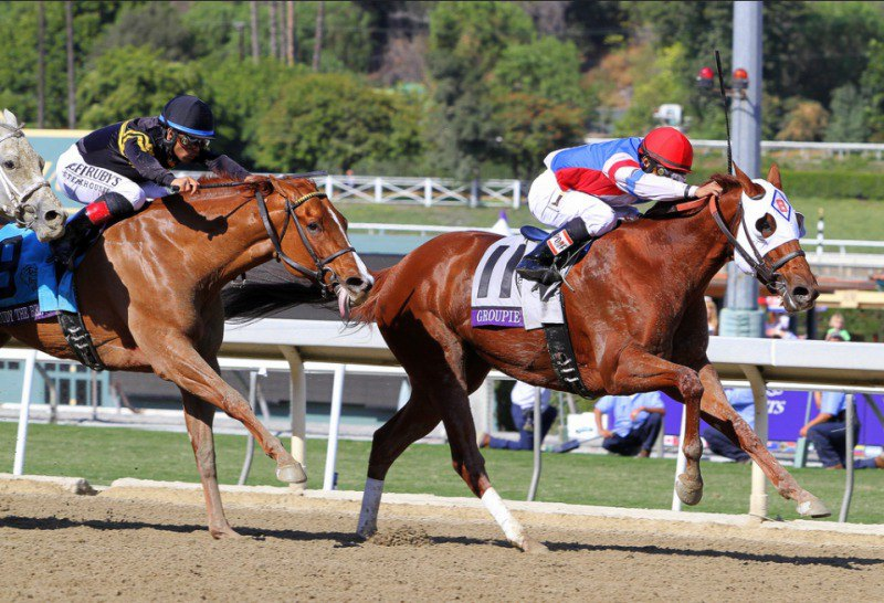 Ипподром Santa Anita Park, Breeders' Cup Filly and Mare Sprint (Gr. 1) 2013 год.