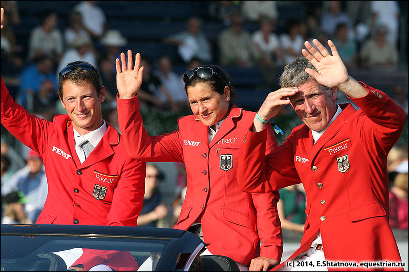 Команда Германии на параде открытия