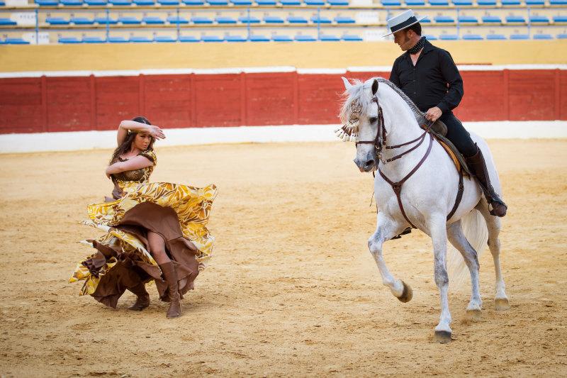 Испания. Андалузия. Вечернее представление.