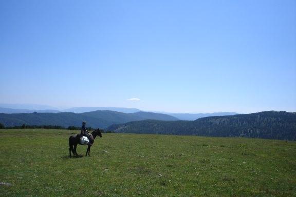 Это Алтайские горы